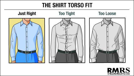 how to tuck in a shirt without billowing