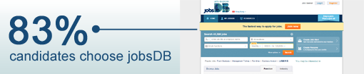 Lo and behold: jobsDB remains the leading job portal