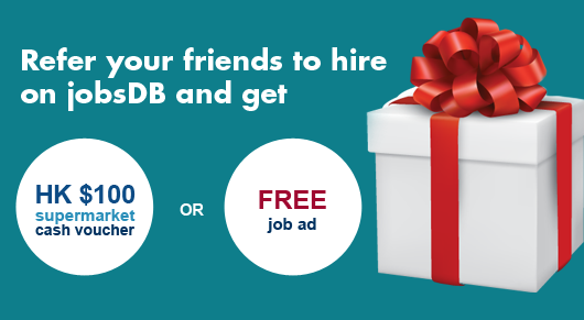 jobsDB Employer Referral Campaign