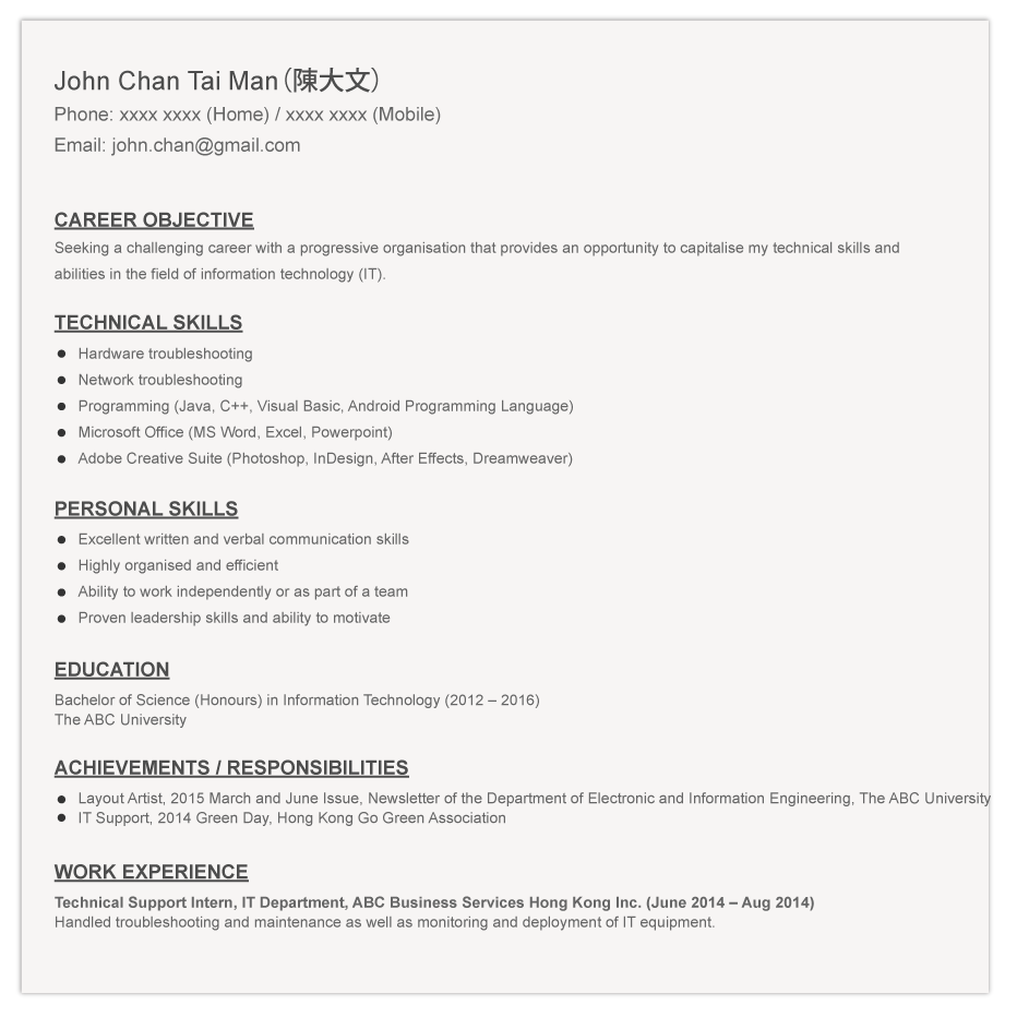 Resume For Hunting Guide Resume Downloads Cv Resume Template