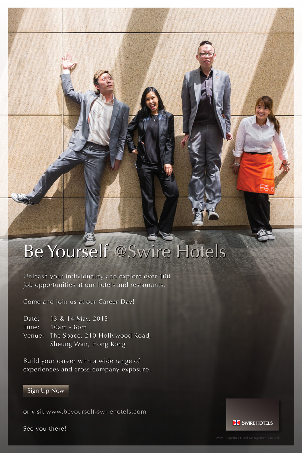 13-14 May, 2015 Career Day organized from Swire Hotels
