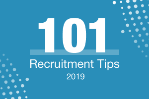 101 Recruitment Tips 2019