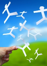 Flying-Paper-Men