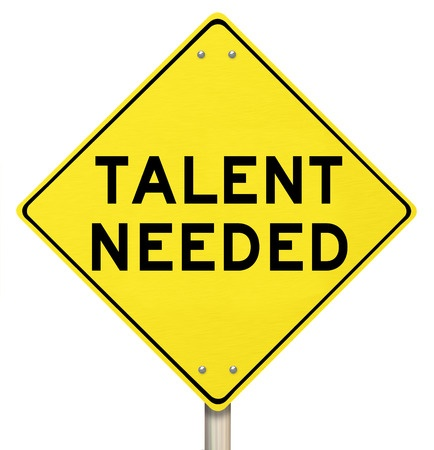 talent needed sign
