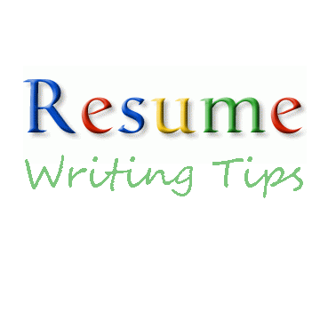 resume writing tips - Tips On Writing Resume