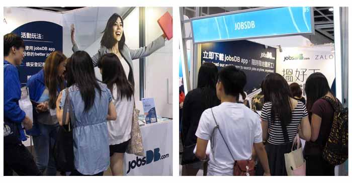 jobsDB at HKIA Career Expo 2015