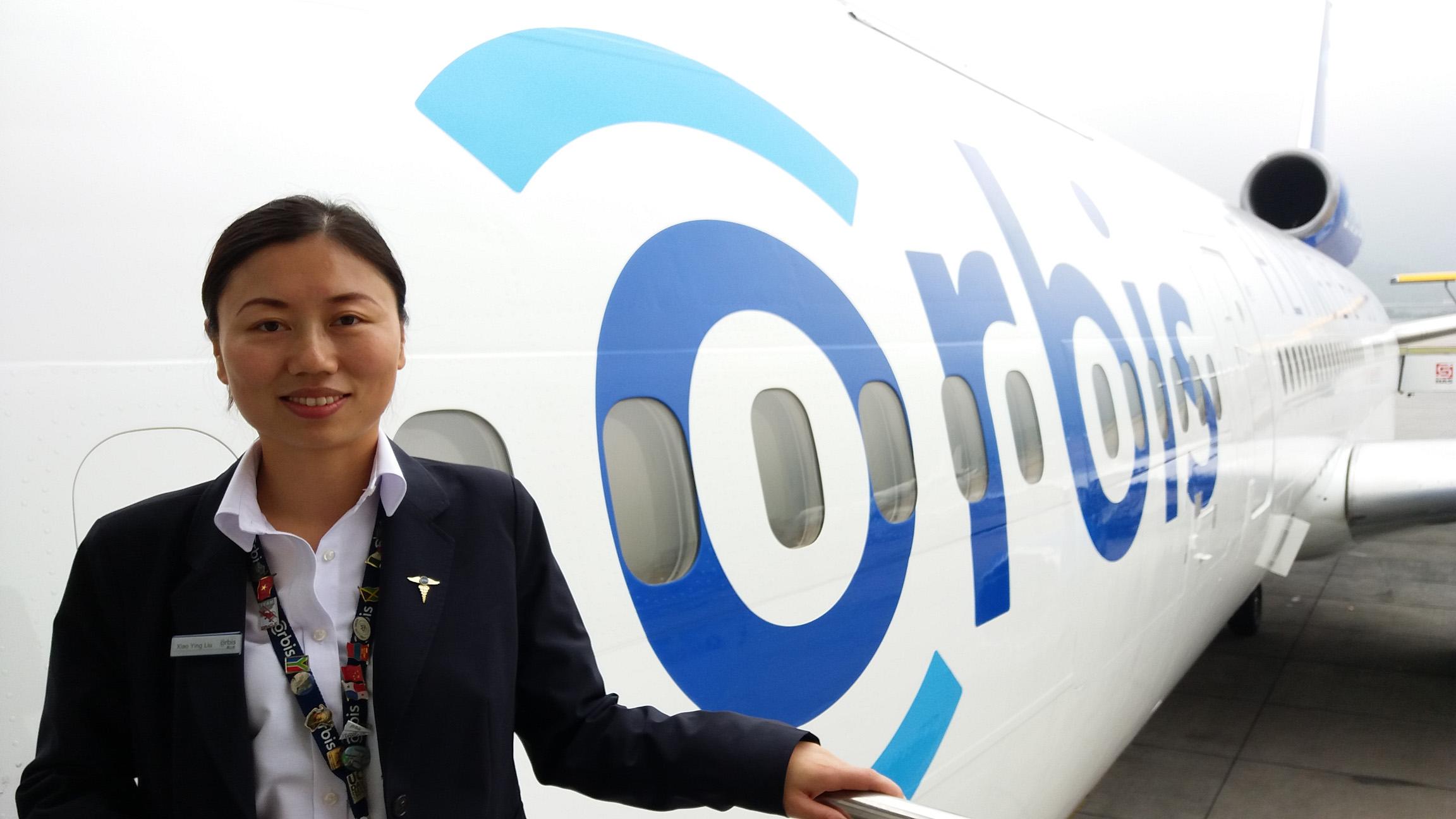 奧比斯飛機醫院護士