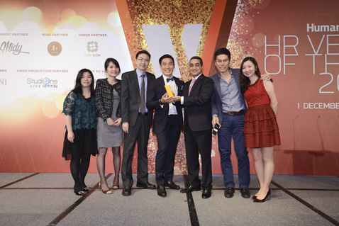 jobsDB received double awards at HR Vendors of the Year 2016