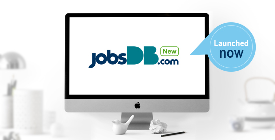 Experience the new jobsDB