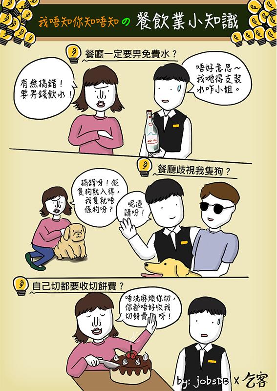 乞客:我唔知你知唔知嘅餐飲業小知識-1