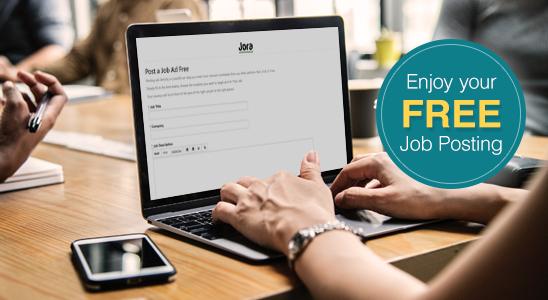 Enjoy your FREE job posting