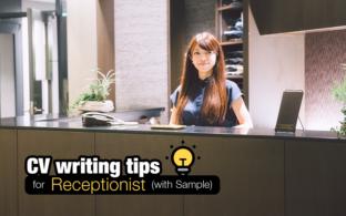 Resume & CV Sample for Receptionist