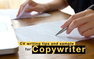 Resume - CV sample for Copywriter