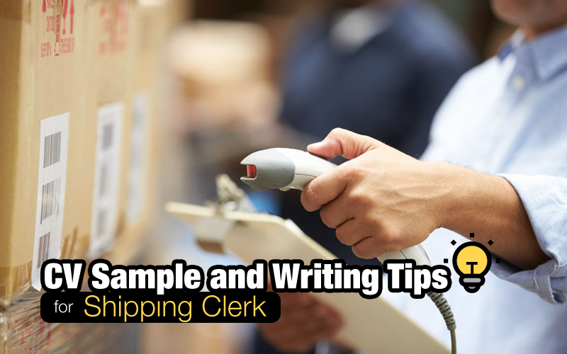 CV-resume-shipping-clerk