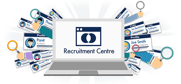 What can I do with the jobsDB Recruitment Centre?