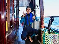 【返工無國界】有一種職業讓他環遊海底世界,潛水教練優哉游走各國水域