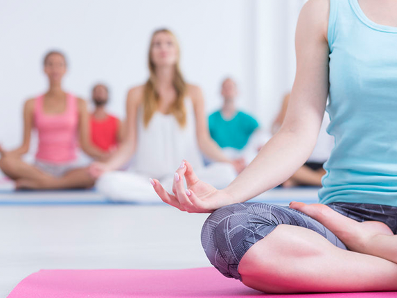Get a free yoga session by sharing your inspirational message