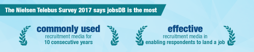 jobsDB is always your best recruitment partner