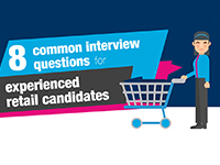 Top 8 common interview questions for experienced retail candidates