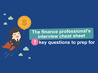 7 key interview questions for finance professionals