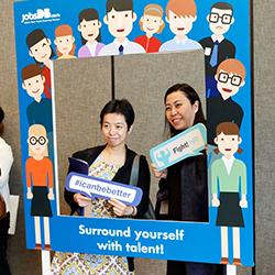jobsDB photo booth
