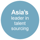 Asia's  leader in talent sourcing