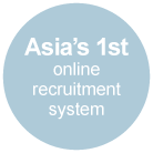 Asia's 1st online recruitment system